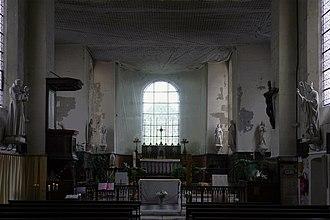 Hôpital Saint-Louis - Image: P1170819 Paris X hôpital Saint Louis chapelle rwk
