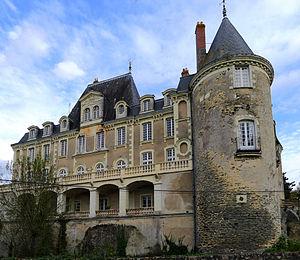 Feneu - The Château of Sautret