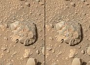 PIA18401-MarsCuriosityRover-NovaRock-LaserSpark-20140712