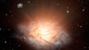 Luminous infrared galaxy - Image: PIA19339 Most Luminous Galaxy WISE J224607.57 052635.0 20150521