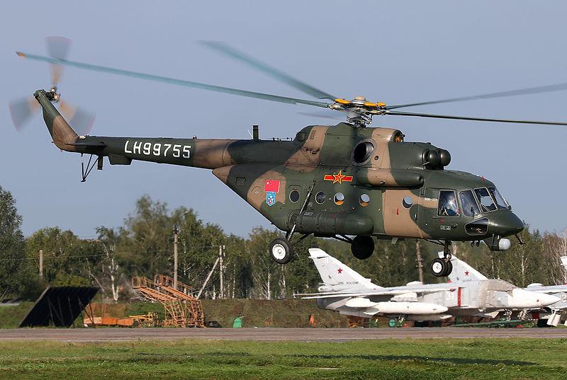 PLA Mil Mi-17-1 at Chelyabinsk Shagol Air Base.jpg