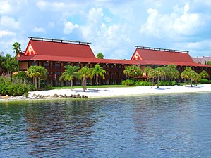 Magic Kingdom Resort Area - Disney's Polynesian Village Resort