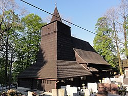 Saint Roch wooden church