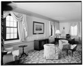 PRESIDENTIAL SUITE, LIVING ROOM - U. S. Military Academy, Building No. 674, West Point, Orange County, NY HABS NY,36-WEPO,1-60-24.tif