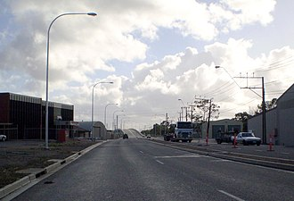 Port River Expressway - Image: PREXY Port Adelaide