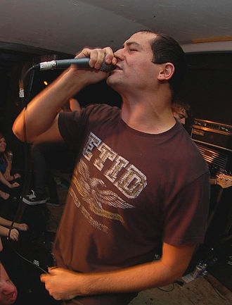 Poison the Well (band) - Jeffrey Moreira live in 2007