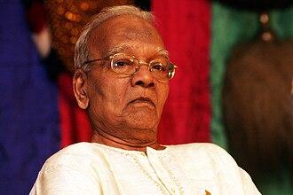 Ramankutty Nair - Kalamandalam-Ramankutty-Nair, at Guruvayur, Kerala (January 2011)
