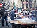 Paella a la Plaça de la Reina, Falla Tio Pep 02.jpg