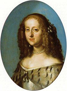 Painting of Sophie Amalie, Duchess of Brunswick-Lüneburg by an unknown artist.jpg