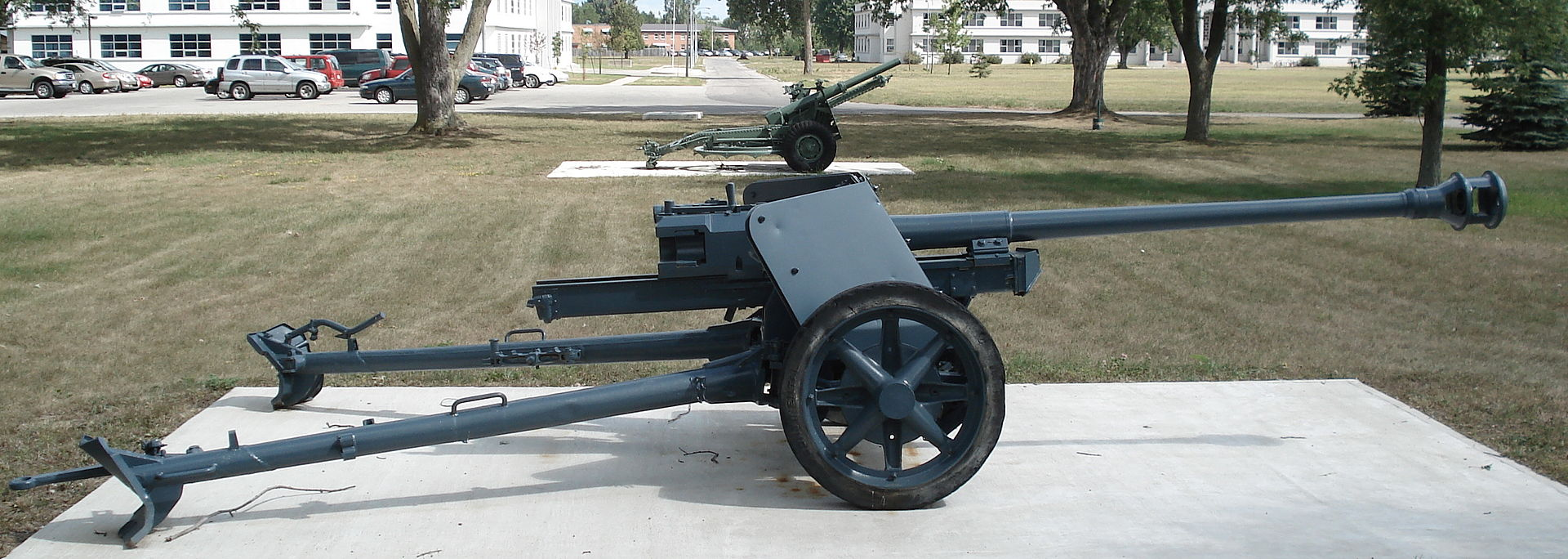 photo of 7.5cm Pak 40 L/48 from Wikipedia