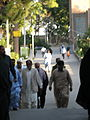 Pakistani pilgrimes of Mohammad al-Mahruq Mosque - October 15,2013 - Nishapur 9.JPG