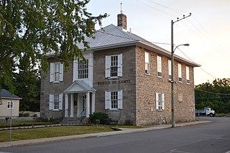Napierville - Palais de justice, Napierville