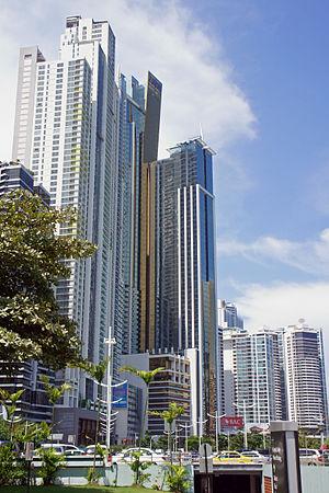 Bicsa Financial Center - Image: Panama 08 2013 BICSA 7028