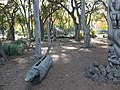 Papua New Guinea Sculpture Garden at Stanford University, central area 3.jpg