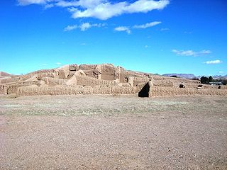 Casas Grandes prehistoric archaeological site in the northern Mexican state of Chihuahua