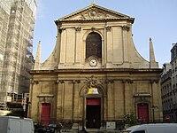 Paris - Basilique Notre-Dame des Victoires (façade).JPG