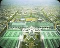 Paris Exposition Chateau of Water and Palace of Electricity, aerial view, Paris, France, 1900.jpg
