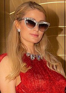 Paris Hilton American media personality and socialite