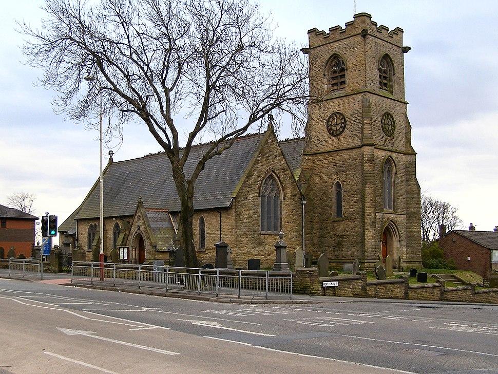 Parish Church of Saint Stephen, Kearsley Moor - geograph.org.uk - 1765637