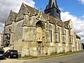 Parnes (60), église Saint-Josse, vue depuis le sud-ouest 3.jpg