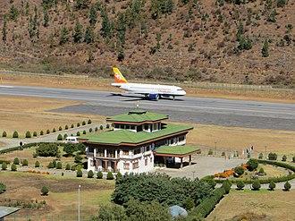 Paro Airport - Image: Paro day 1 58 (8202279871)