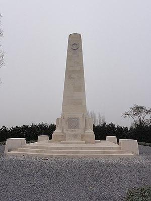 New Zealand Division - The New Zealand Memorial at Passchendaele, in Belgium