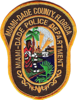 Miami-Dade Police Department - Image: Patch of the Miami Dade Police Department