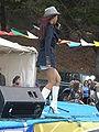 Patricia Javier performing at 14th AF-AFC 14.JPG
