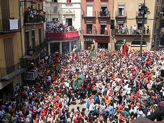 Corpus Christi (feast) - Patum de Berga