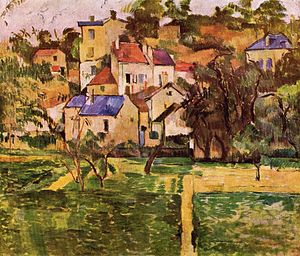 Von der Heydt Museum - Image: Paul Cézanne L'ermitage à Pontoise