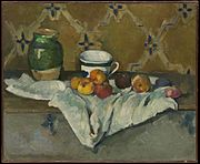 Paul Cézanne - Still Life with Jar, Cup, and Apples.jpg