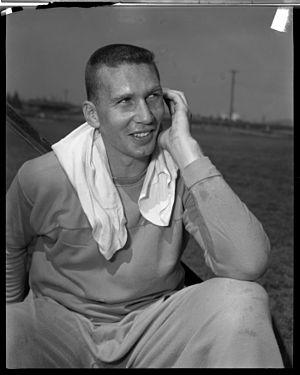 Paul Cameron (gridiron football) - Paul Cameron in 1957