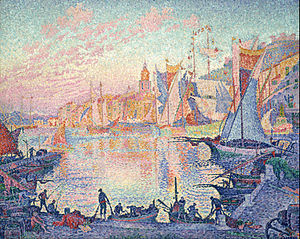 Paul Signac - The Port of Saint-Tropez - Google Art Project