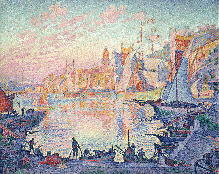 File:Paul Signac - The Port of Saint-Tropez - Google Art Project.jpg