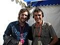 Paul with Paddy Millner Glastonbury 2011.jpg