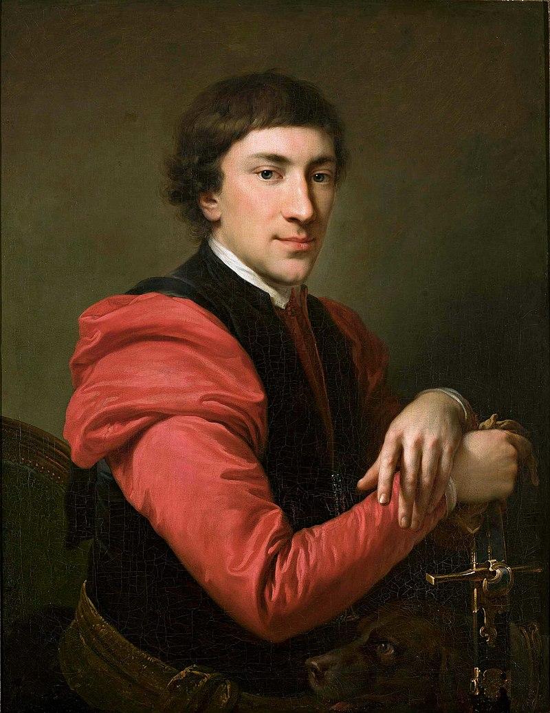 Иоганн Баптист фон Лампи Старший: Портрет Павла Грабовского.