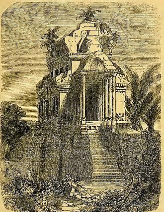 Henri Mouhot - Pavilion of Angkor Wat, by Henri Mouhot