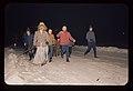 Pehtra baba iz Ziljske doline 1967 - Zasledovalci z zvonci podijo pehtro iz vasi.jpg