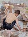 Pekka Halonen - Two Boys on the Shore - A III 2696 - Finnish National Gallery.jpg
