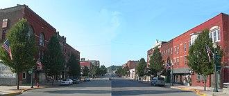Tyrone, Pennsylvania - Tyrone Historic Downtown 2012