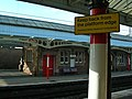 Penrith Railway Station warning (the boring, real version) - geograph.org.uk - 132060.jpg