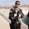 Peshmerga soldier at the dam of Mosul.jpg