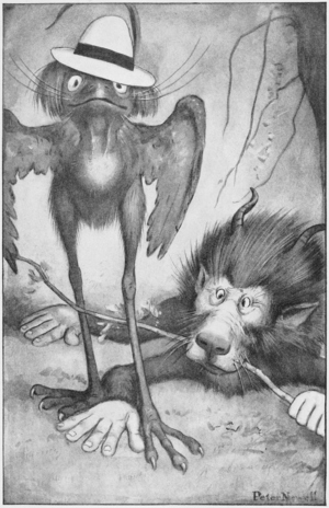 Bandersnatch - Image: Peter Newell Through the looking glass and what Alice found there 1902 page 18