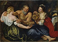 Peter Paul Rubens - Lot and his daughters in a rock grotto (Schwerin).jpg