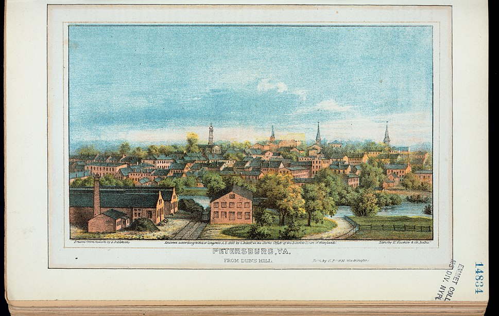 Petersburg, Va., from Duns Hill (NYPL Hades-256520-EM14834)