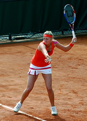 2011 WTA Tour Championships - Petra Kvitová became the first Slam champion born in the '90s