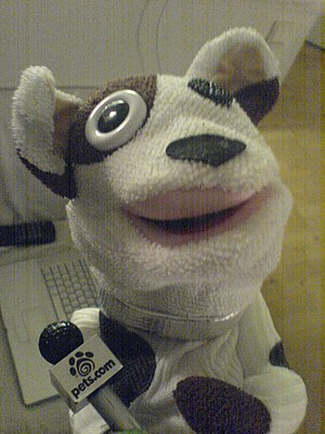 Pets.com - The Pets.com sock puppet