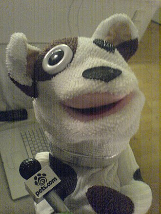 Pets.com - The Pets.com sock puppet