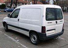 Peugeot Partner rear 20080104.jpg