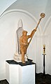 Pfarrkirche hl. Nikolaus 08, Ratten, statue of Saint Nicholas by Bernd Preisegger.jpg